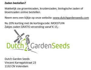 Dutch Garden Seeds 2019